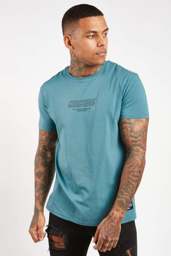 Fresh Couture Flux T Shirt - Teal