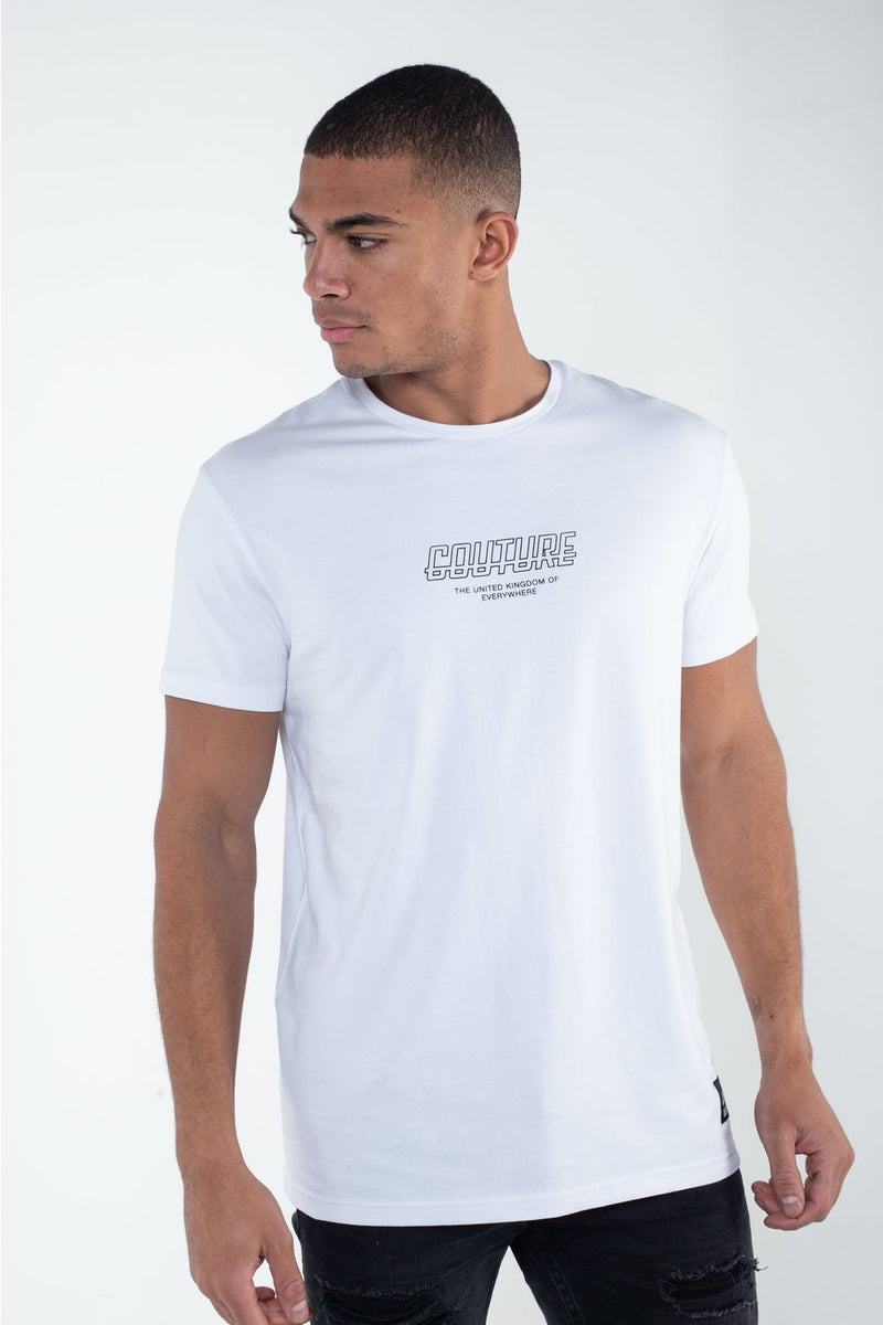Fresh Couture Flux T Shirt -  White