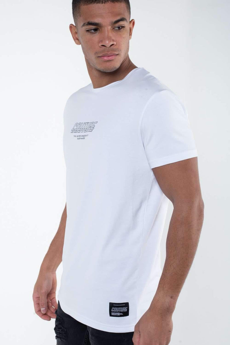 Fresh Couture Flux T Shirt -  White - 2