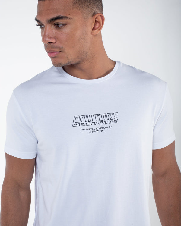 Fresh Couture Flux T Shirt -  White - 1