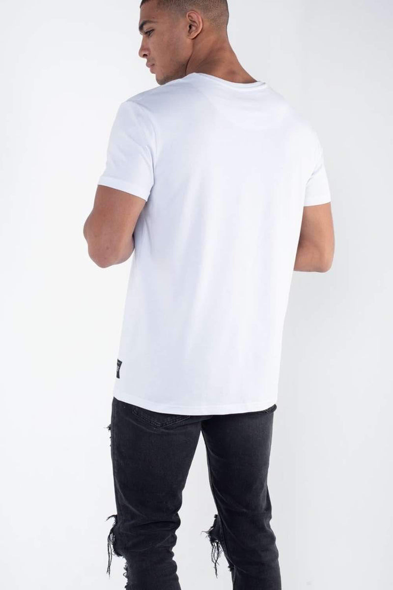 Fresh Couture Flux T Shirt -  White - 3