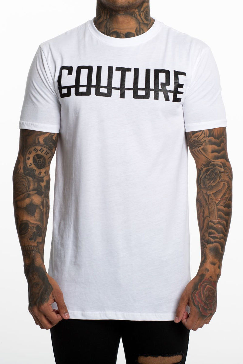 Fresh Couture Logo Longline Tee - White - 4