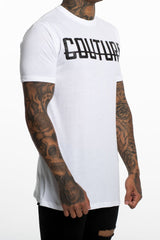 Fresh Couture Logo Longline Tee - White - 3