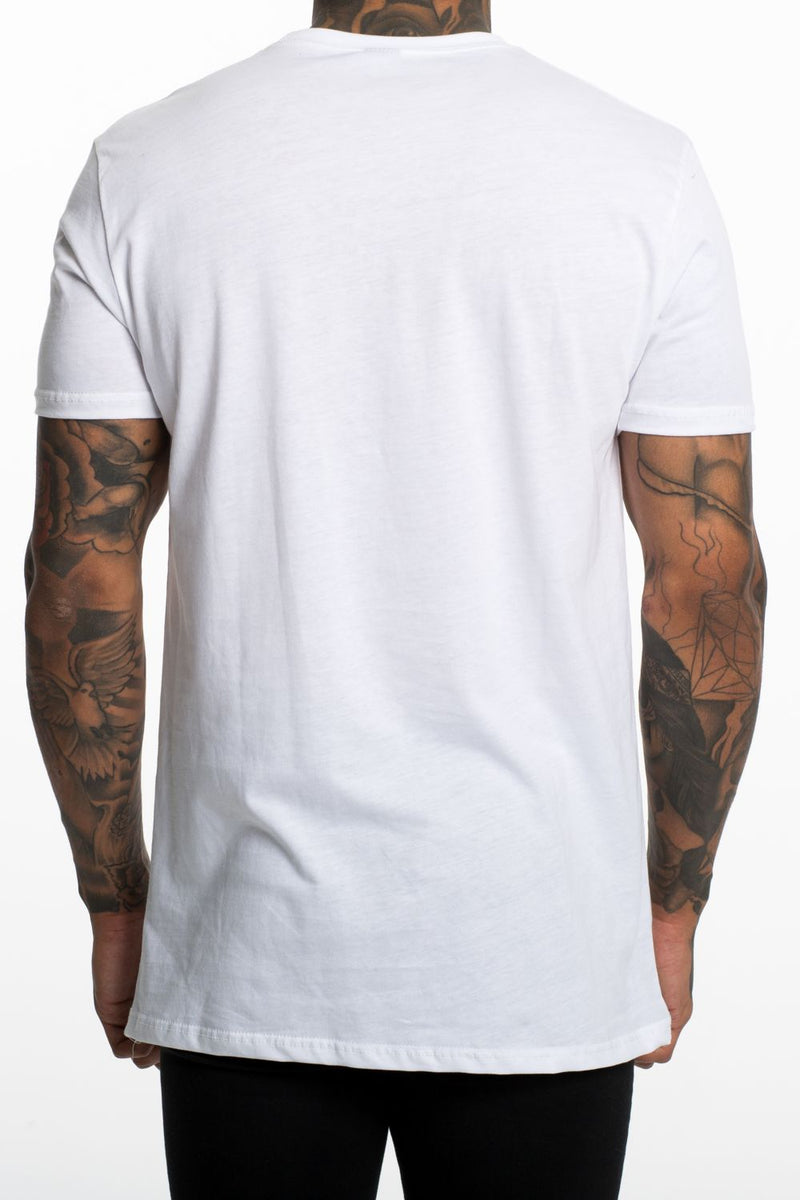 Fresh Couture Logo Longline Tee - White - 2