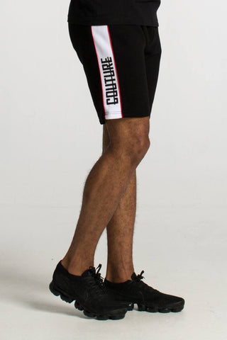 Fresh Couture Miami Shorts - Black- 1