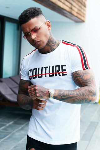 Fresh Couture Milan T-Shirt - White