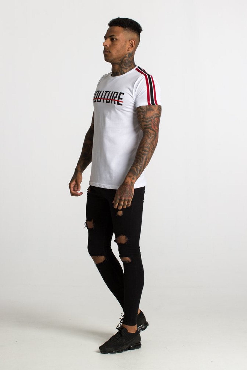 Fresh Couture Milan Tee - White