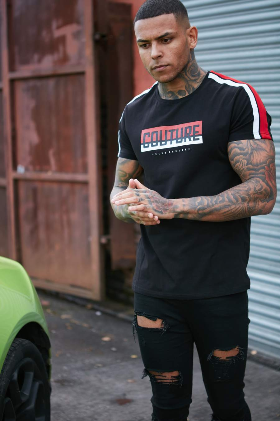 Fresh Couture Paris T-Shirt - Black - 2