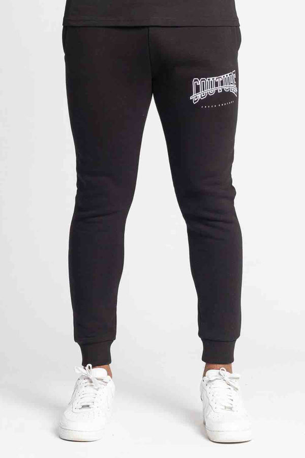 Fresh Couture Rousillon Jogger Pants - Black