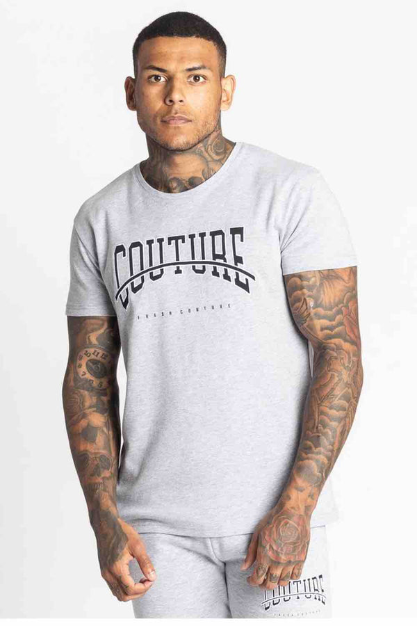 Fresh Couture Rousillon T Shirt - Grey - 3