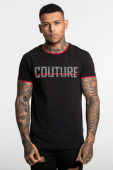 Fresh Couture Toulon T-Shirt -Black