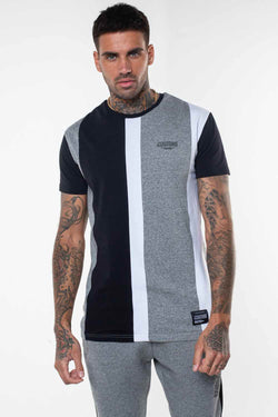 Fresh Couture Valencia T-Shirt - Grey/Black