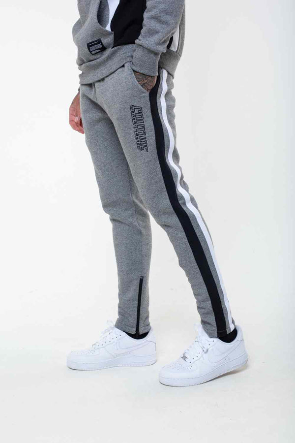 Fresh Couture Valencia Tracksuit Pants  -  Grindle/Black