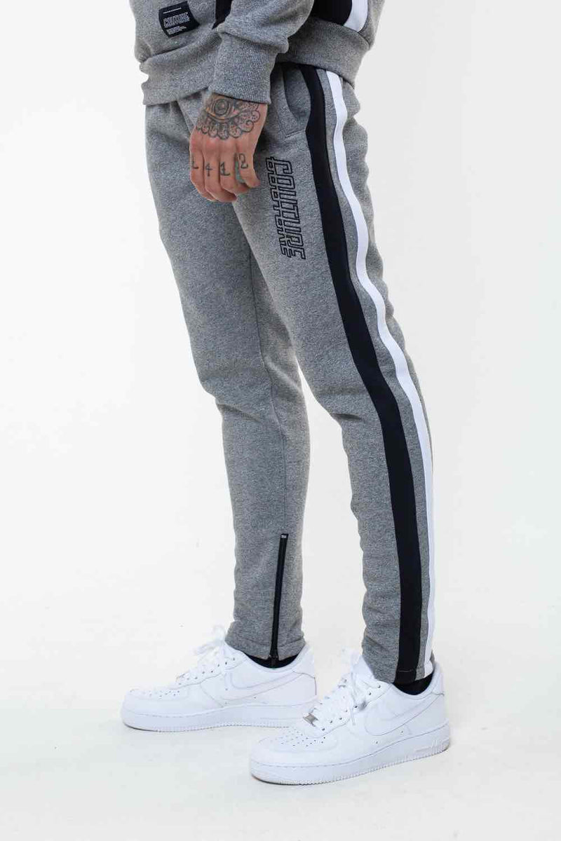Fresh Couture Valencia Tracksuit Pants - Grindle/Black - 1