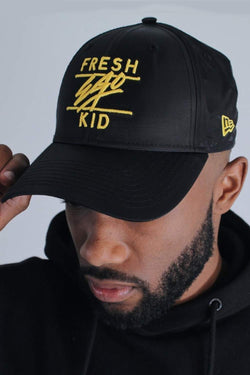 Fresh Ego Kid 9FORTY New Era Cap - Black/Yellow