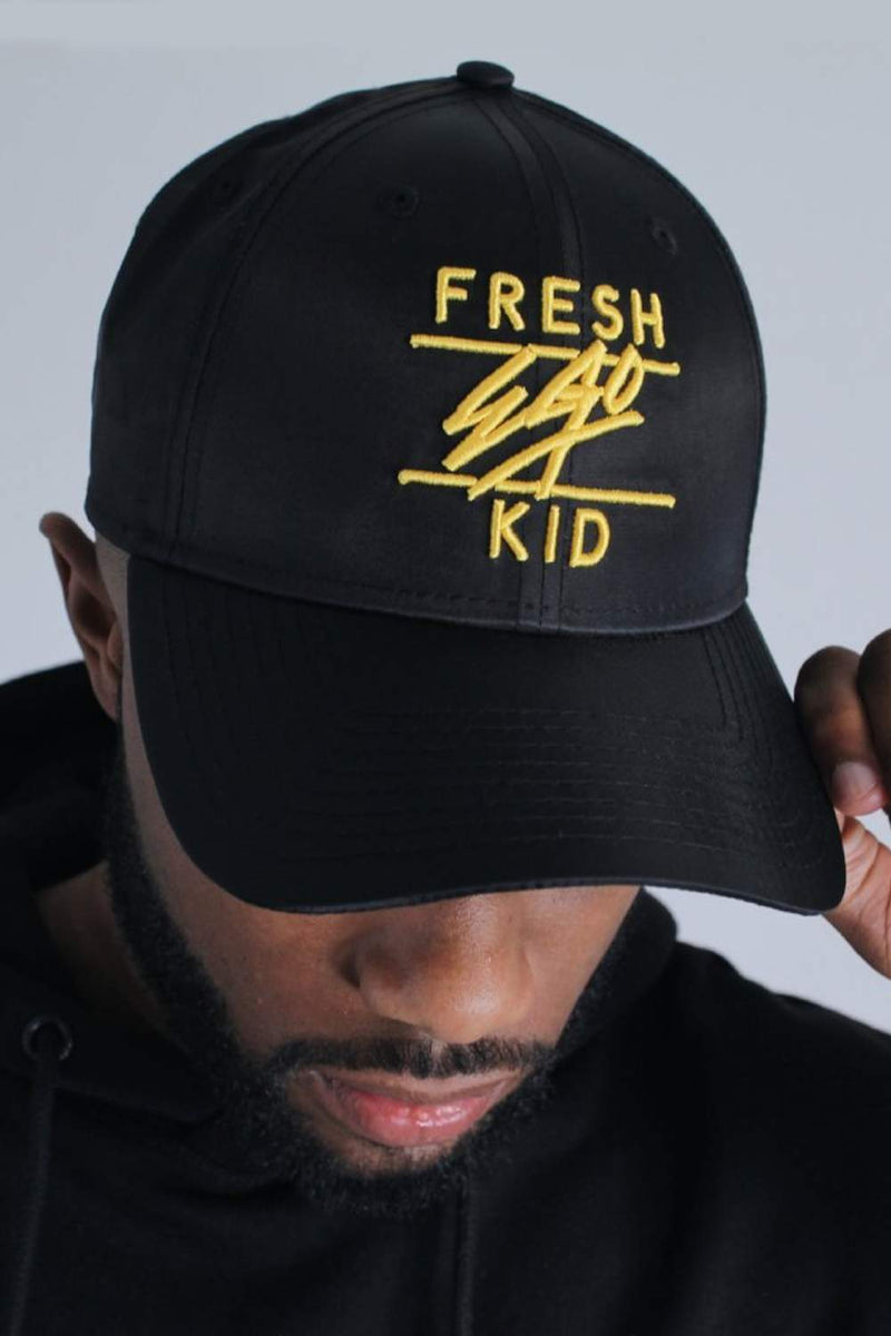 Fresh Ego Kid 9FORTY New Era Cap - Black/Yellow - 1