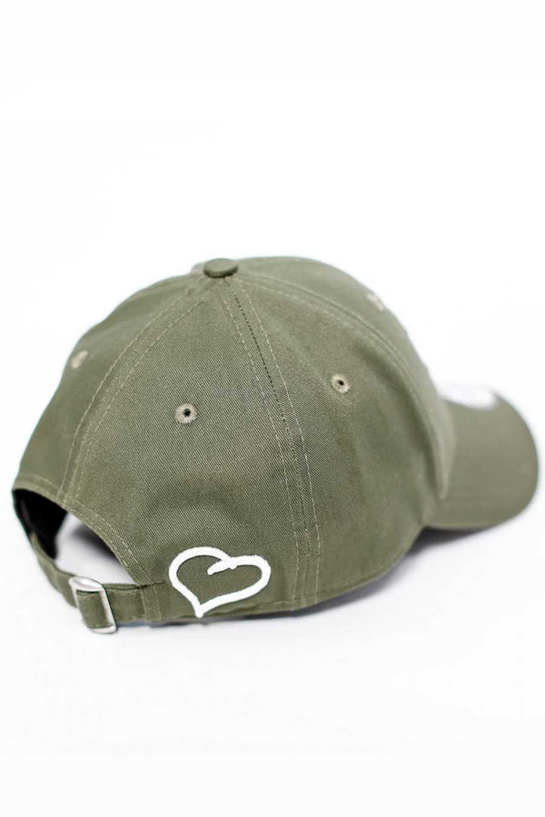 Fresh Ego Kid 9FORTY New Era Cap - Olive/White - 1