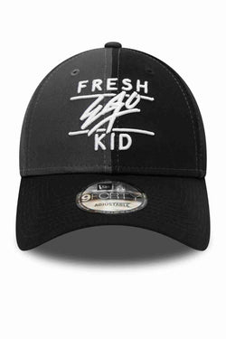 Fresh Ego Kid 9FIFTY New Era Polo Cap - Black/Grey/White