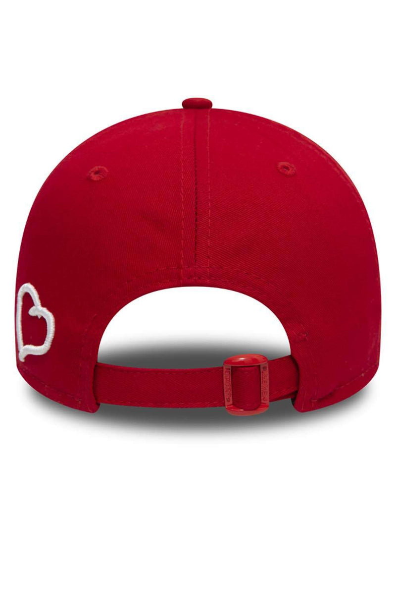 Fresh Ego Kid 9FORTY New Era Polo Cap - Red/White - 3