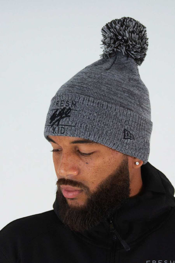 Fresh Ego Kid Bobble Hat - Grey - 2