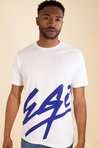 Fresh Ego Kid Ego T-Shirt - White/Navy