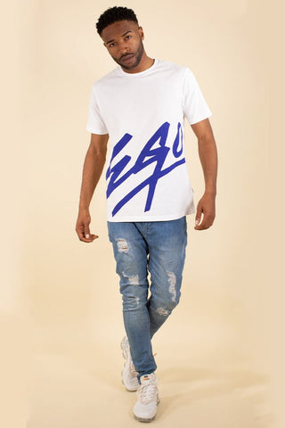 Fresh Ego Kid Ego T-Shirt - White/Navy - 1