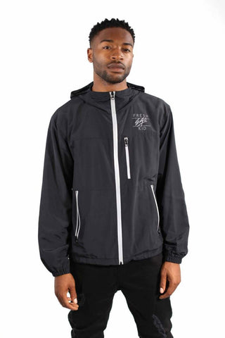 Fresh Ego Kid Lightweight Jacket - Black