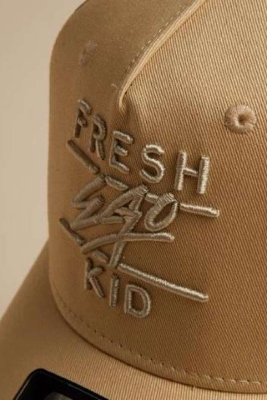Fresh Ego Kid Mesh Trucker Cap - Sand - 1