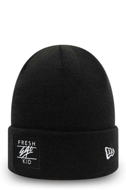 Fresh Ego Kid New Era Beanie Hat - Black