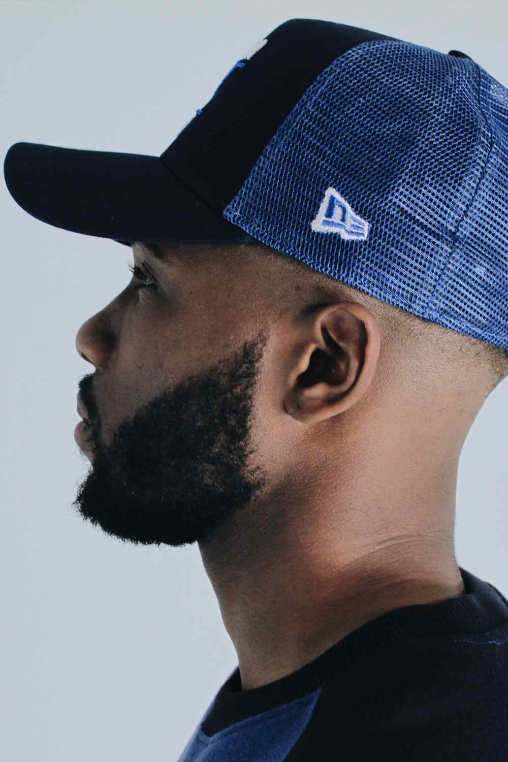 - Fresh Ego Kid New Era Mesh Trucker Cap - Navy - 2