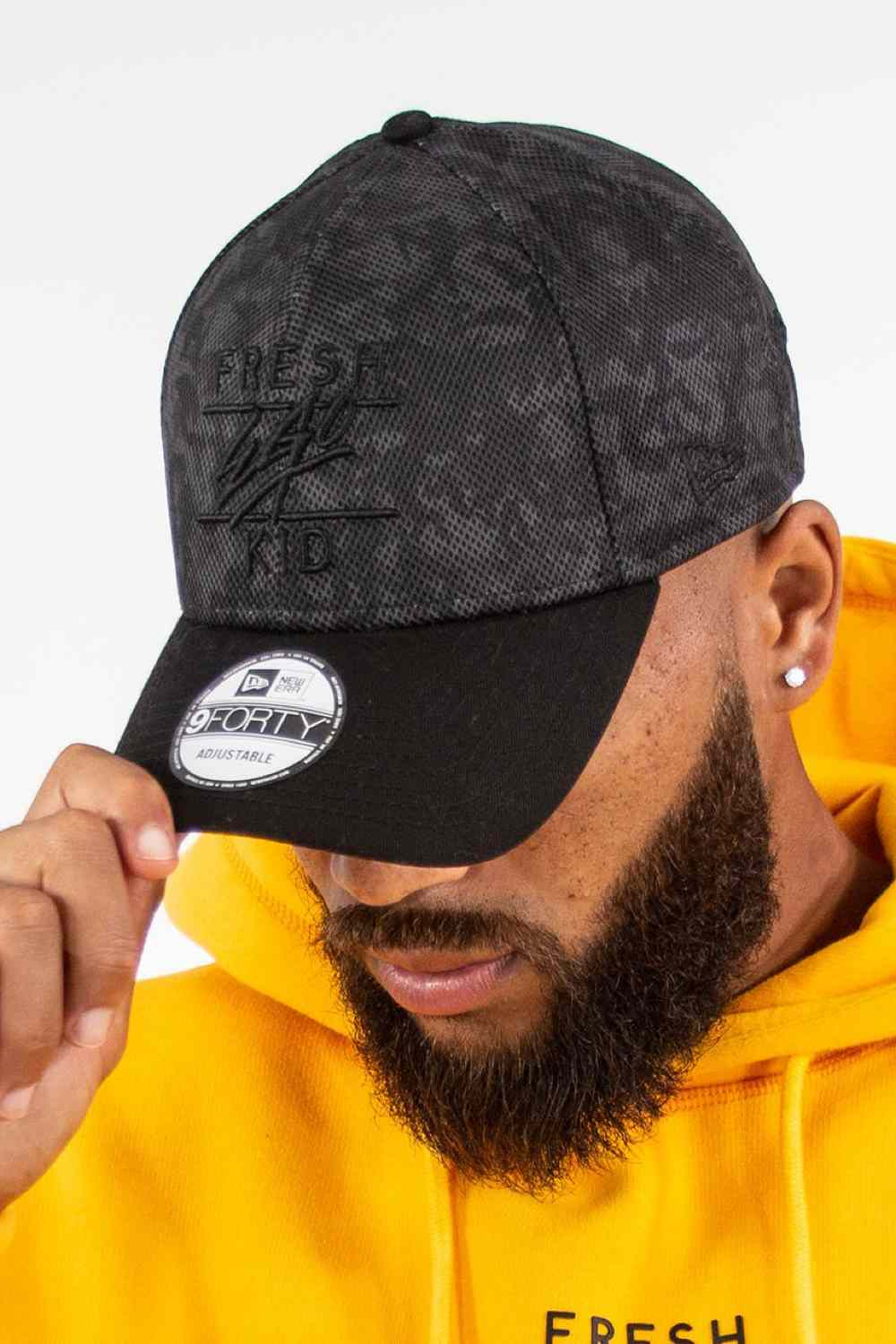 Fresh Ego Kid New Era Polo Cap - Black/Camo