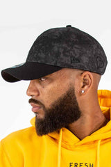 Fresh Ego Kid New Era Polo Cap - Black/Camo - 1