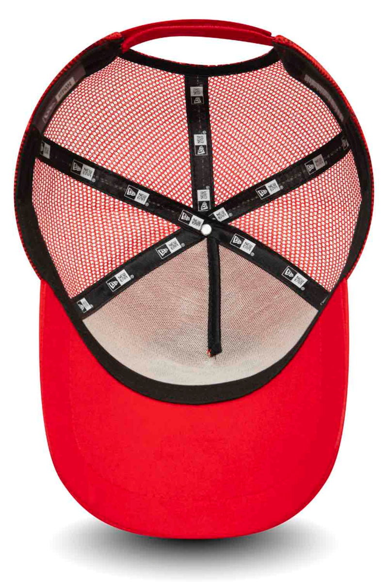 Fresh Ego Kid New Era Reflective Trucker Cap - Red/Silver - 3
