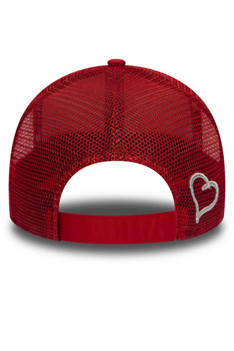 Fresh Ego Kid New Era Reflective Trucker Cap - Red/Silver - 2