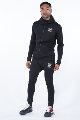 Fresh Ego Kid Scuba Tracksuit - Black - 6