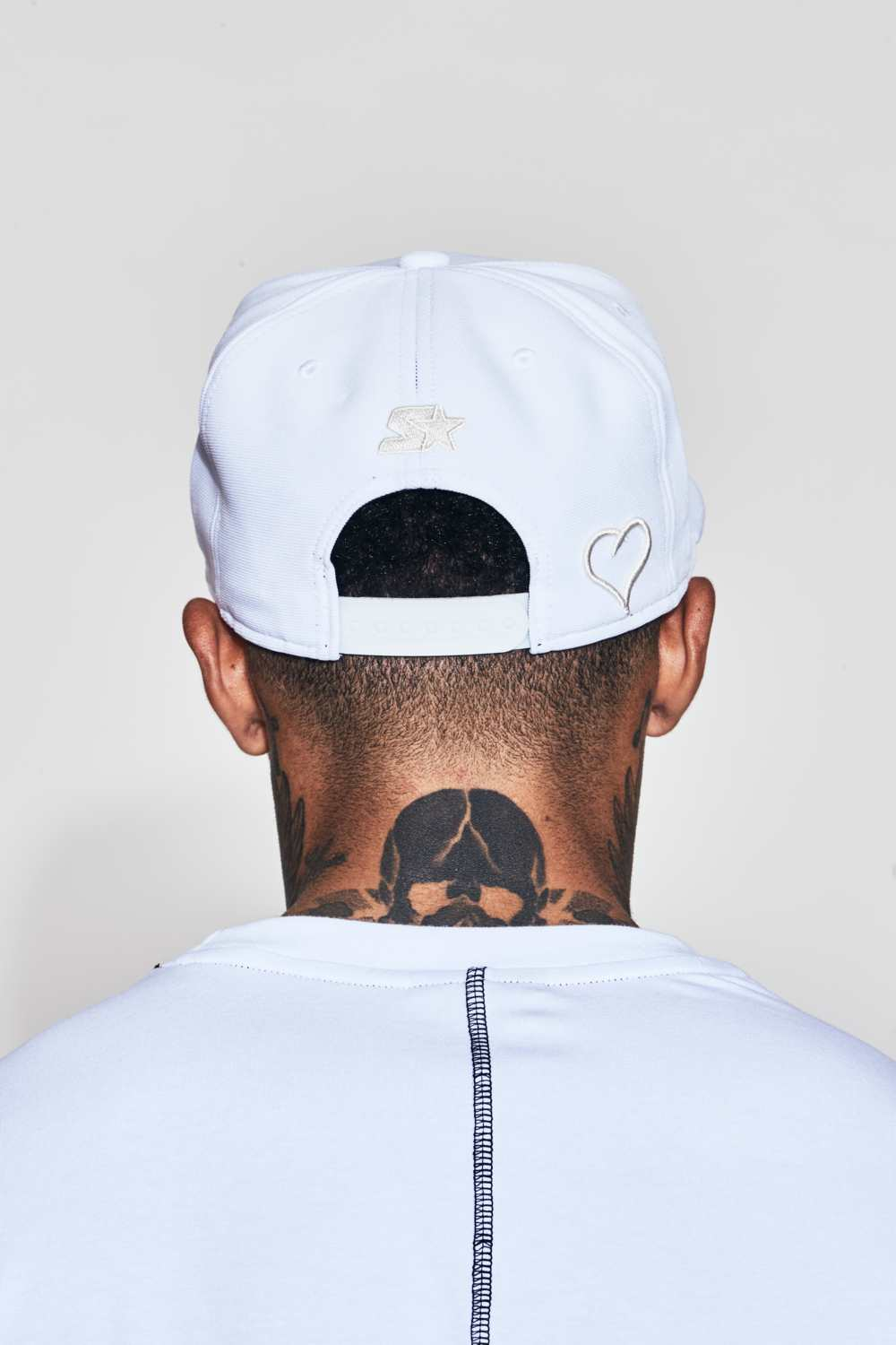 Fresh Ego Kid Snapback Cap - Off White - 2