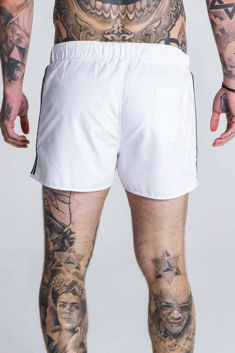 Gianni Kavanagh Tape Swim Shorts - White - 2