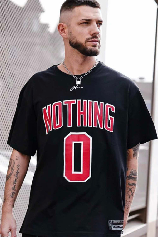 Good For Nothing Oversized Nothing Jersey - Black - Lifestyle