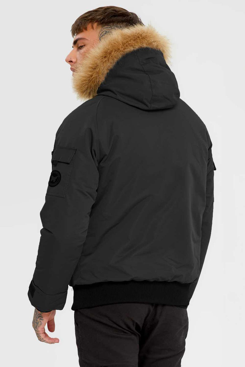 Good For Nothing Artic Bomber Parka - Black - 2