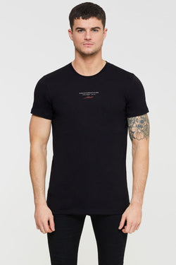 Good For Nothing Authentic Branded T-Shirt - Black