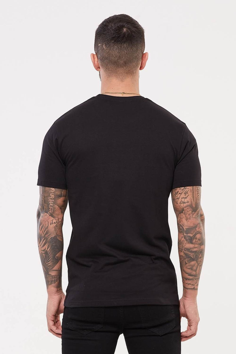 Good For Nothing Authentic Script Flash T-Shirt - Black - 3