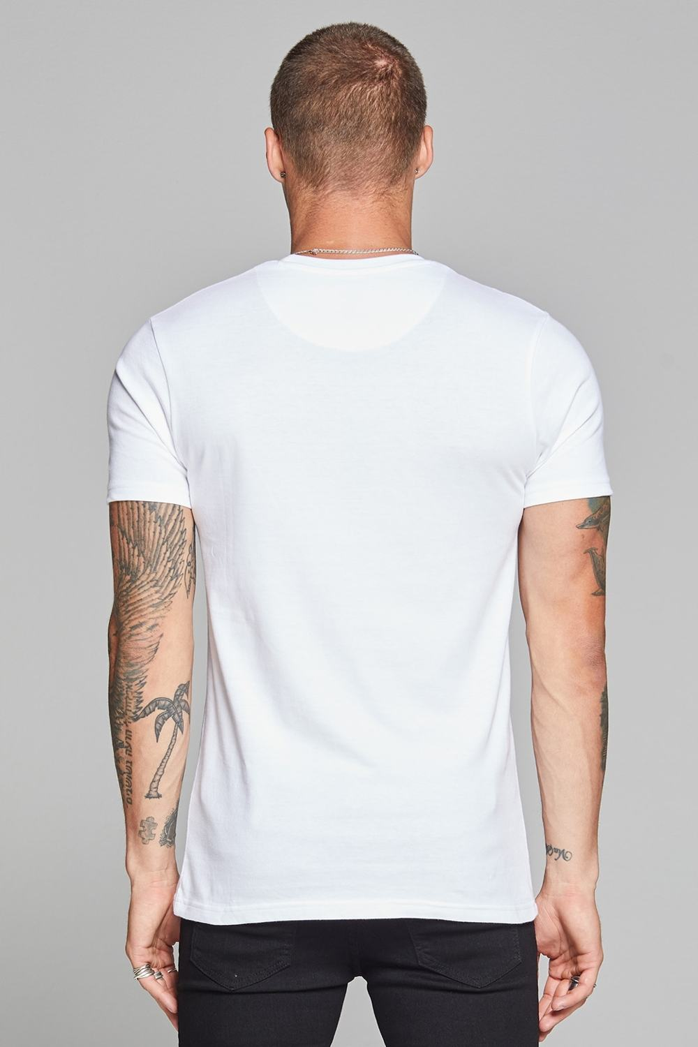 Good For Nothing Authentic Script T-shirt - White - 2