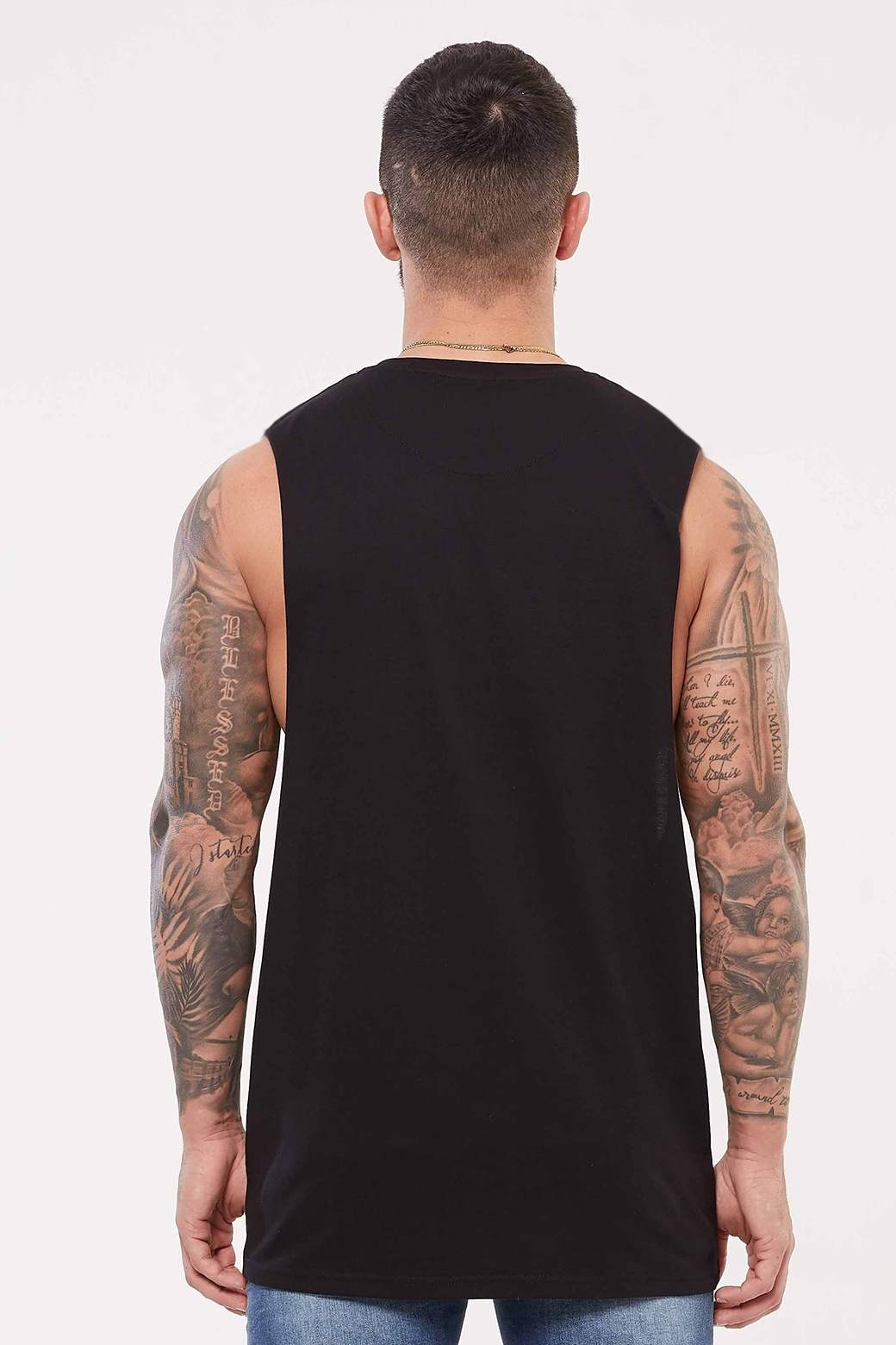 Good For Nothing Edition Cut Away Vest - Black - 2