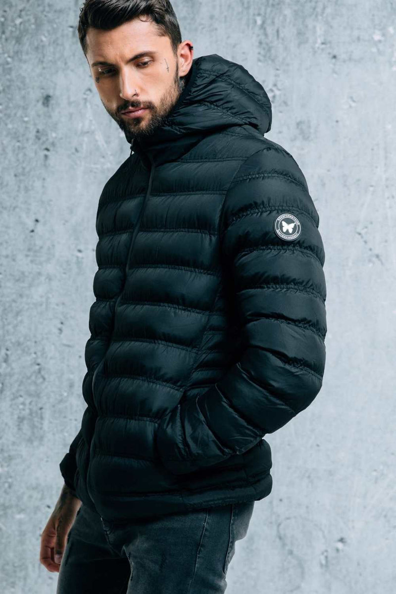 Good For Nothing Element Puffer Jacket - Matte Black