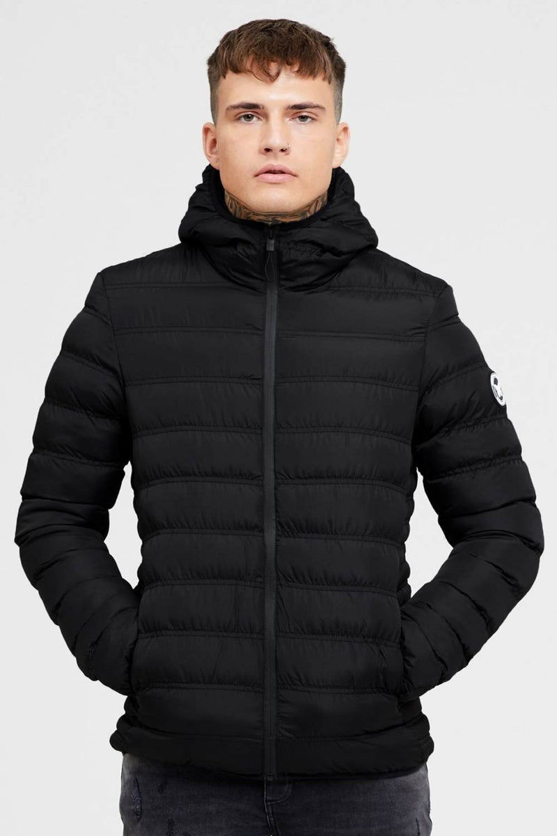 Good For Nothing Element Puffer Jacket - Matte Black - 3
