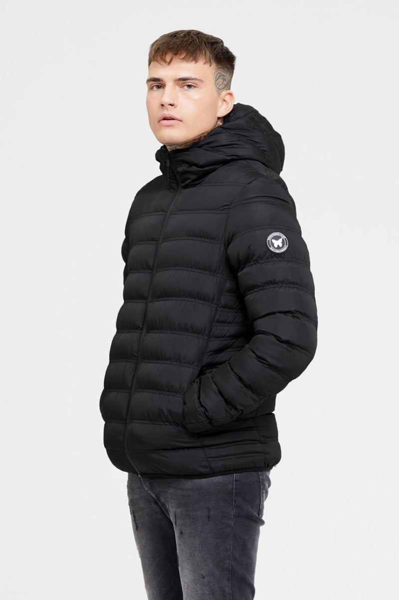 Good For Nothing Element Puffer Jacket - Matte Black - 1