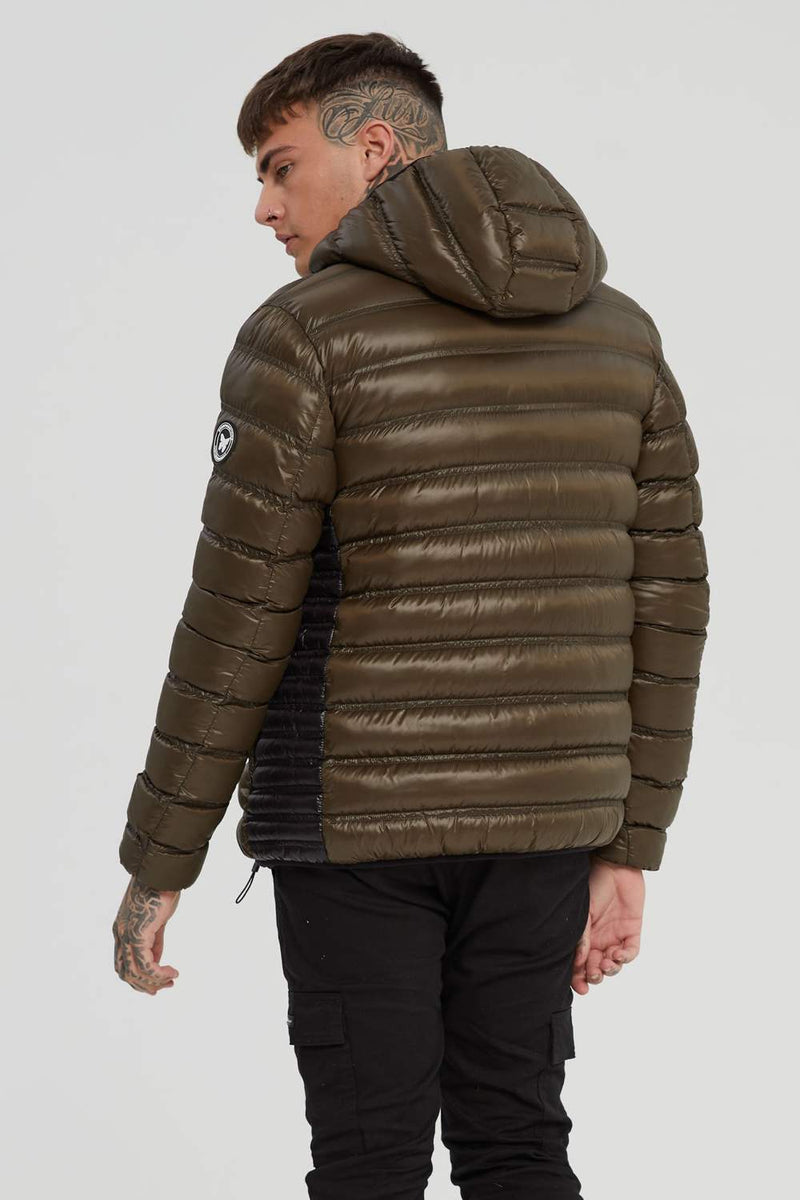 Good For Nothing Element Puffer Jacket - Olive -3