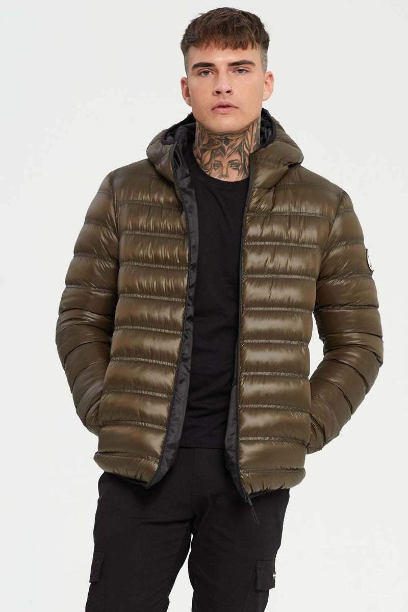Good For Nothing Element Puffer Jacket - Olive