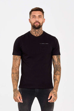 Good For Nothing Fitted Micro Taping T-Shirt - Black