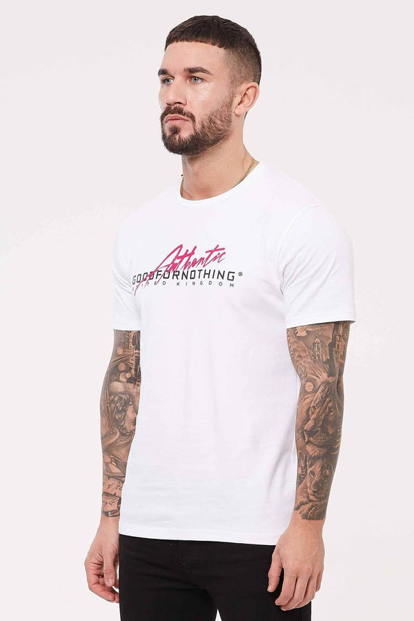 Good For Nothing Flash T-Shirt - White